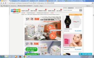 StarkLED juga dijual online!