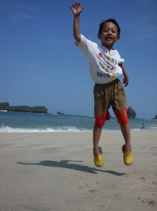 Jump, Sidqi, Jump! Reach Your Dream!
