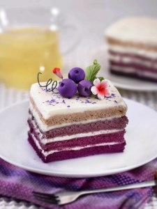 Purple Ombre Cake yang mouth-watering bangeet...