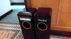 Trash? Or, recycle?