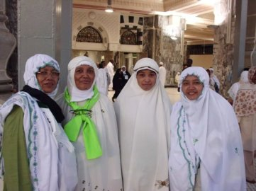 Pelataran Masjidil Haram (Okt 2010)