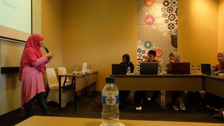 Pemateri workshop Bank Indonesia
