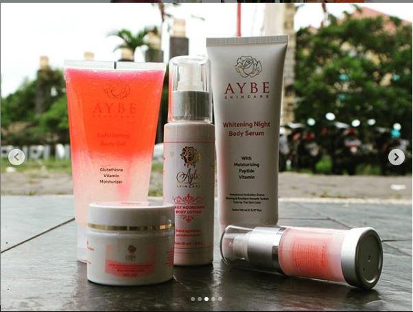 Serum Pemutih Badan yang Ampuh dari AYBE Skincare